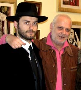 Paolo Senatore con il Maestro Francese