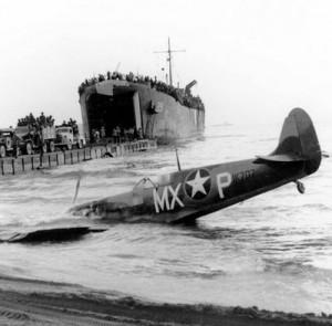 spitfire caduto a salerno 1943